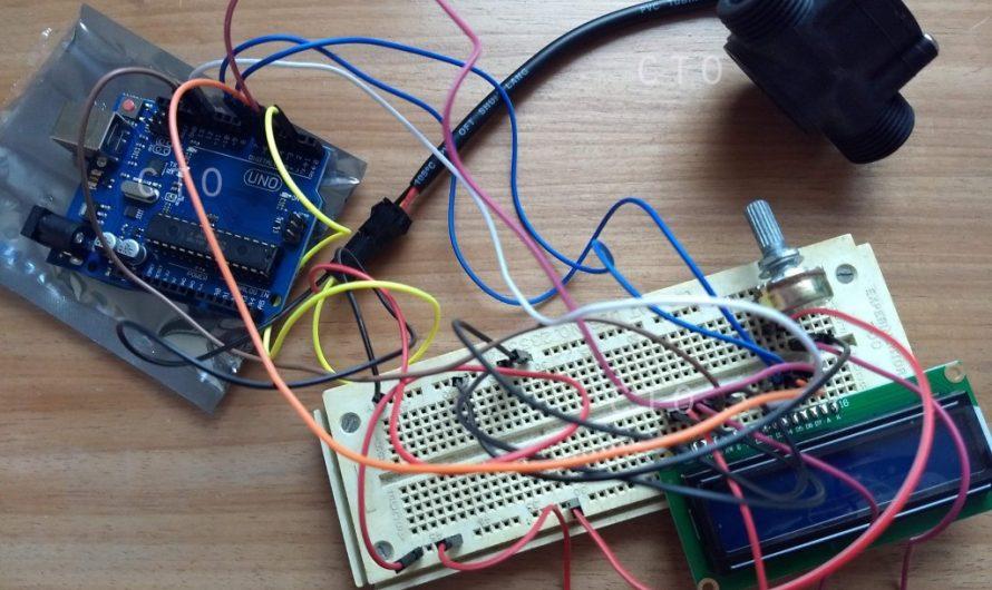 Proyecto con Sensor de Flujo YF-S201 y Arduino UNO