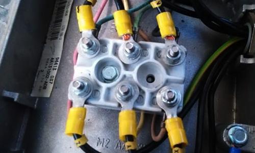 ¿Como conectar  un Motor Trifásico?