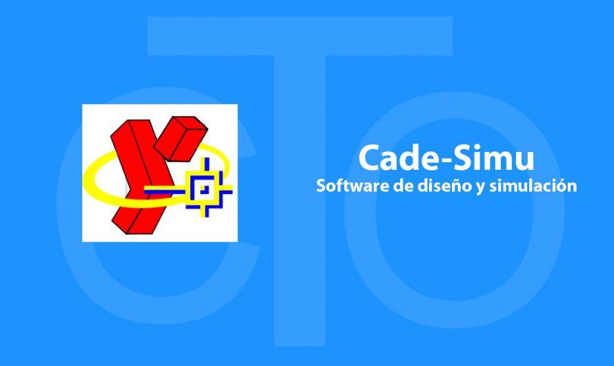 CADE-SIMU Software de diseño y simulación para Automatización