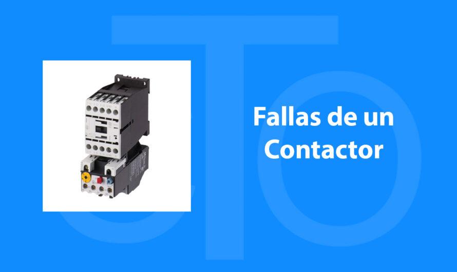Fallas en un contactor